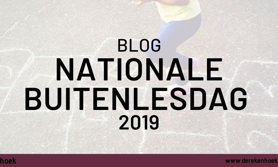 Nationale buitenlesdag 2019