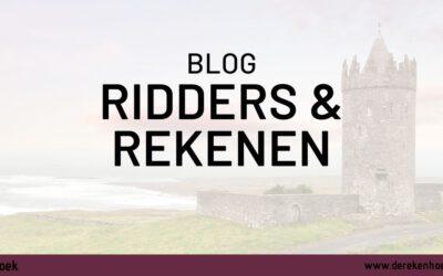 Thema ridders en rekenen